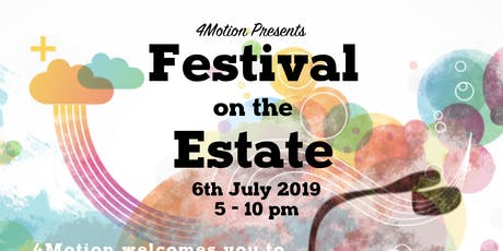 Festival on the Estate 2019 tickets