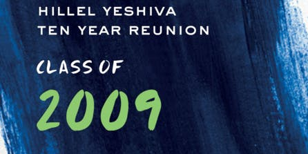 Hillel High School Ten Year Reunion