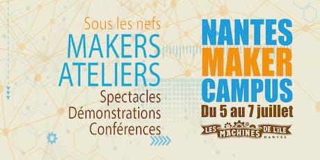 Nantes Maker Campus - Soirée de présentation #3 billets