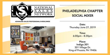 National Sales Network Philly Summer Kick-Off Mixer  tickets