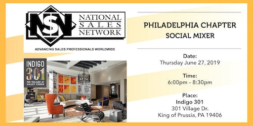 National Sales Network Philly Summer Kick-Off Mixer