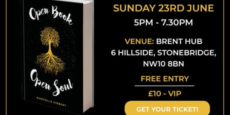 Open Book, Open Soul Book Launch tickets
