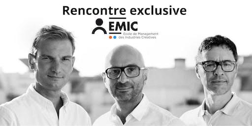 Rencontre exclusive avec les directeurs de l'EMIC
