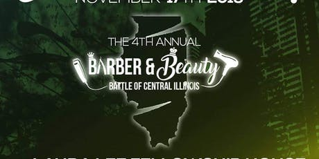 4TH ANNUAL BARBER BATTLE OF CENTRAL ILLINOIS  tickets