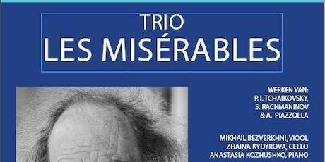 Trio Les Misérables entradas