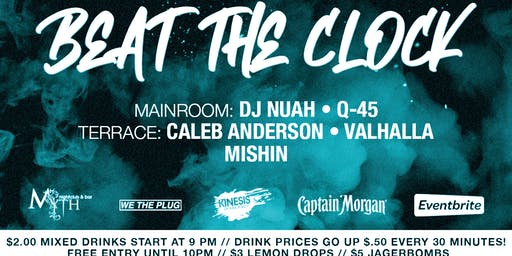 We The Plug Presents: Beat The Clock at Myth Nightclub 06.28.19