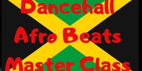 ThiqFitness Studio Presents: Dancehall & Afro Beats Master Class tickets