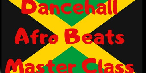 ThiqFitness Studio Presents: Dancehall & Afro Beats Master Class