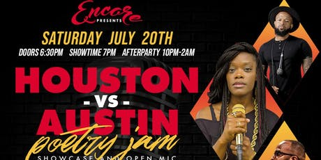 Houston vs ATX Poetry Jam | 7.20 tickets