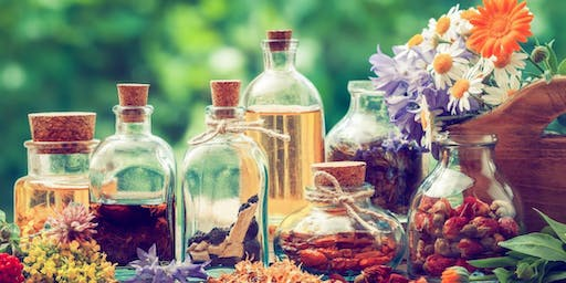 Herbal Class (Making Tinctures, Identifying Herbs, Grounding with Herbs)