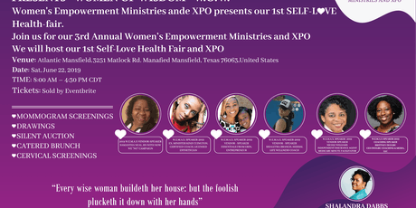 Women's Empowerment Ministries and XPO Healthfair tickets
