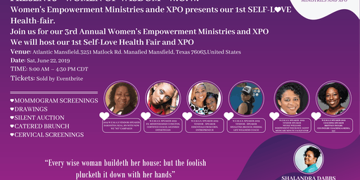 Women's Empowerment Ministries and XPO Healthfair