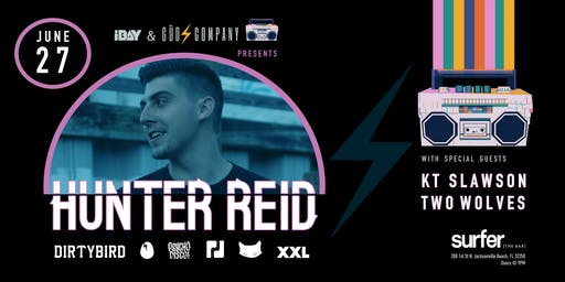 Güd Company Presents: HUNTER REID at Surfer the Bar | 06.27.19 |