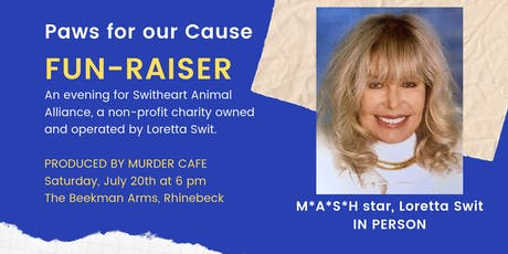 Paws for our Cause: FUN-RAISER for Switheart tickets