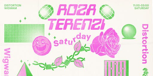 Distortion Presents: Roza Terenzi at Wigwam