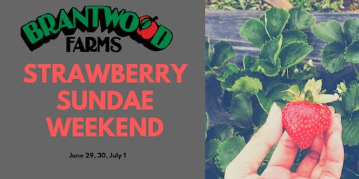 Strawberry Sundae Weekend