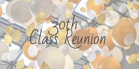 Bridgewater Raritan High School West - 30th Class Reunion tickets