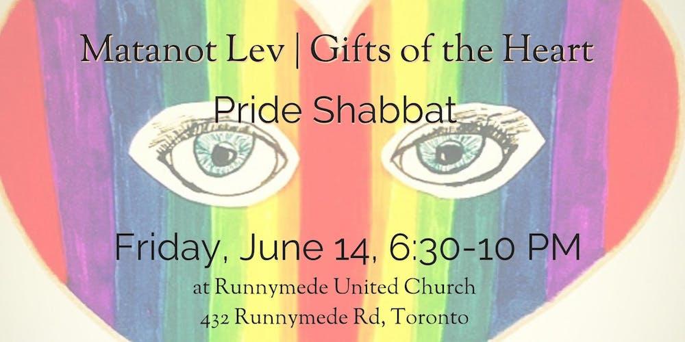 0a3637c39 Pride Shabbat with Matanot Lev