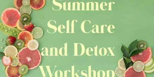Summer Self-Care and Detox Workshop