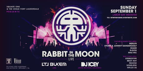 Rabbit in the Moon (LIVE) / The Venue Fort Lauderdaler tickets
