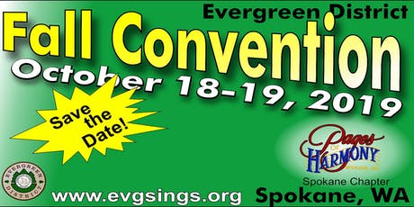 Evergreen District 2019 Convention tickets