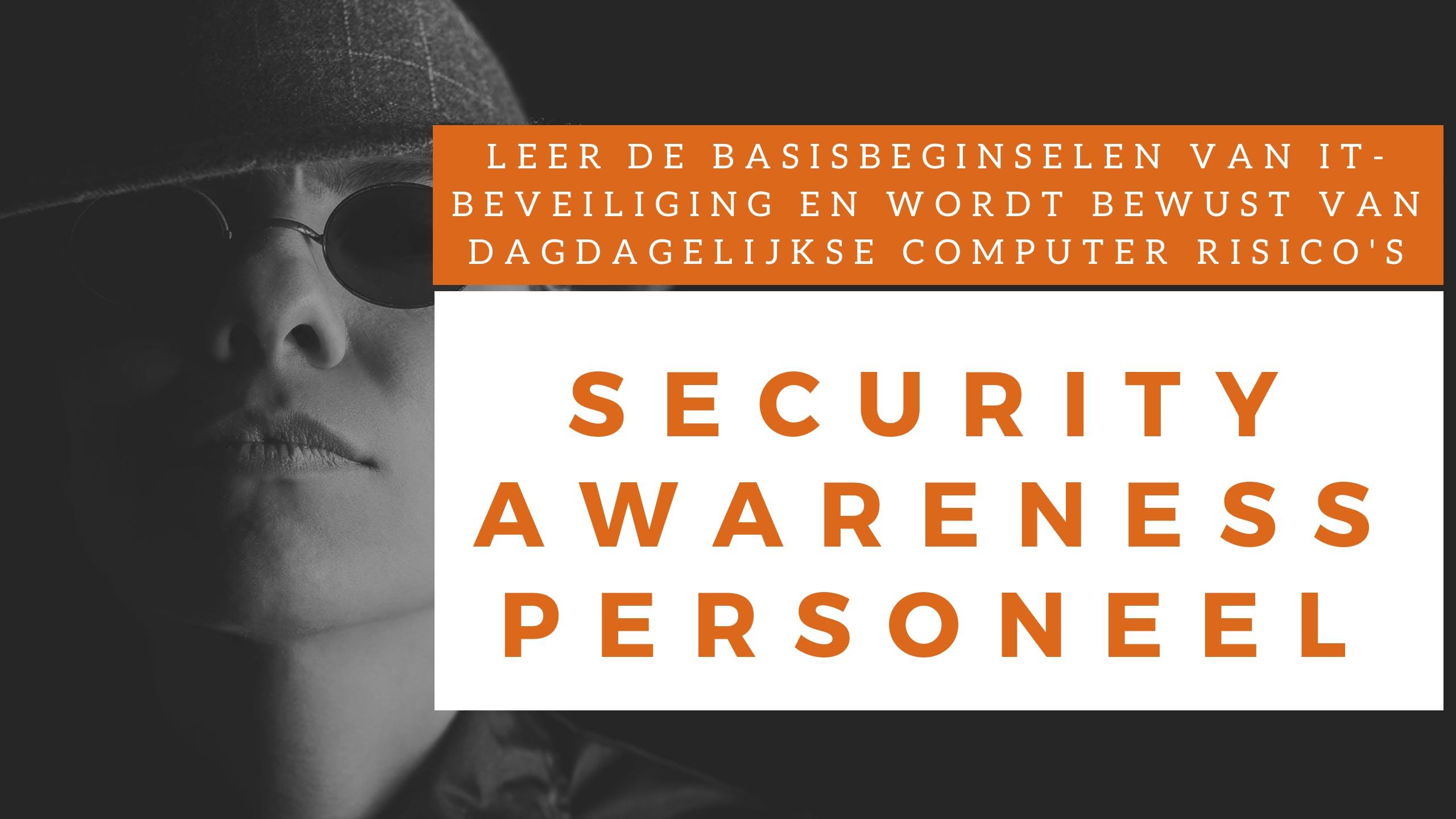 Security Awareness Personeel Training (Nederlands)