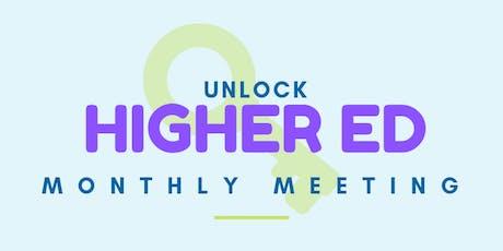 UNLOCK Higher Ed Meeting tickets