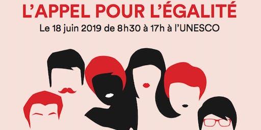 L'appel pour l'égalité par Marie Claire et le Connecting Leaders Club