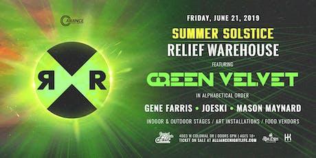 Relief Warehouse: Green Velvet, Gene Farris, Joeski, Mason Maynard tickets