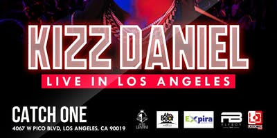 KIZZ DANIEL LIVE IN LOS ANGELES