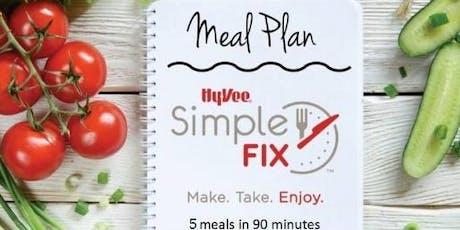 Simple Fix Meal Prepping Workshop: Vegan Menu! tickets