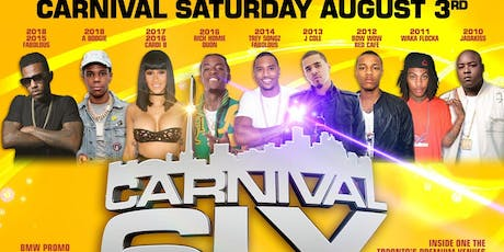 Carnival in the 6ix tickets