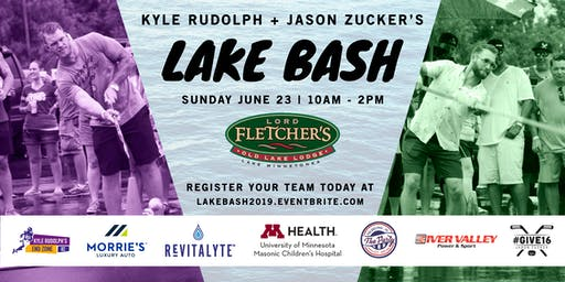 Kyle Rudolph and Jason Zucker Host Lord Fletcher's Lake Bash