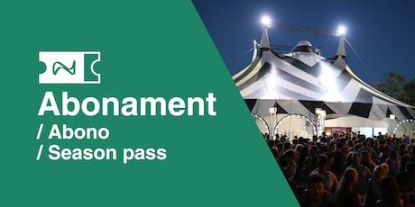 Abonament / Abono / Season pass | Festival Deltebre Dansa entradas