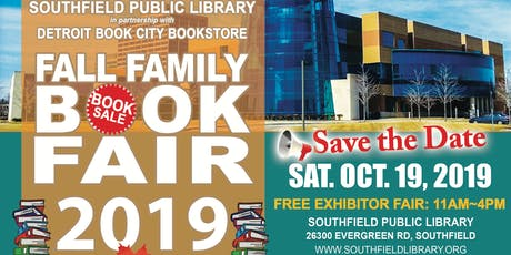 Fall Family Book Fair @Southfield Public Library  tickets