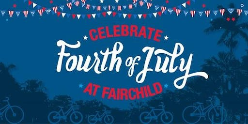 4th of July at Fairchild