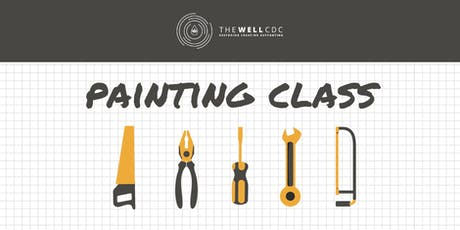 Wall Series: Painting Class tickets