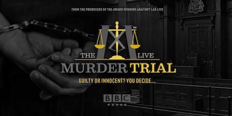 The Murder Trial Live 2019   Derby 29/08/2019 tickets