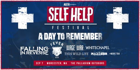 ADTR PRESENTS SELF HELP FEST tickets