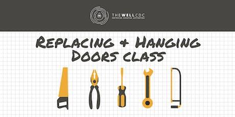 Finish Carpentry Series: Replacing & Hanging Doors Class tickets