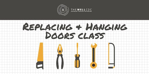 Finish Carpentry Series: Replacing & Hanging Doors Class