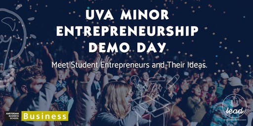 University of Amsterdam Minor Entrepreneurship Demo Day