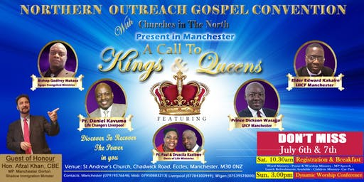 A CALL TO KINGS AND QUEENS