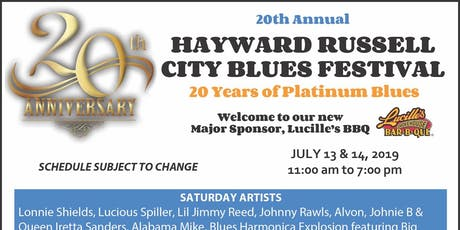 Hayward Russell City Blues Festival 2019 tickets