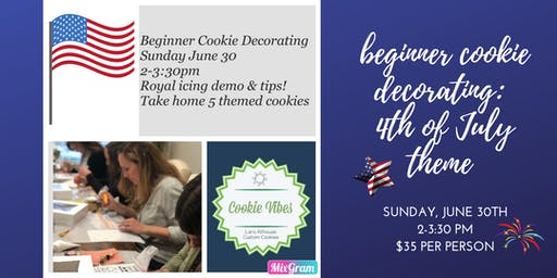 Cookie Decorating: Beginner Class