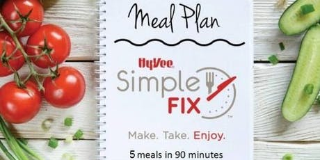 Simple Fix Meal Prepping Workshop: Low Carb Menu! tickets