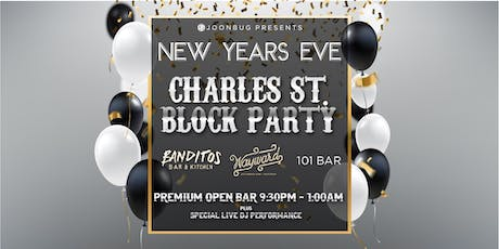 Lindypromo.com's Official Charles Street Block Party New Years Eve 2020 tickets