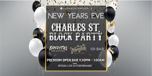 Lindypromo.com's Official Charles Street Block Party New Years Eve 2020