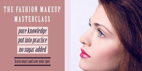 Anita Jászter-Simon Fashion Makeup Masterclass tickets