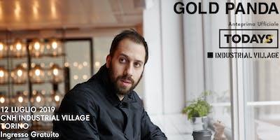 GOLD PANDA live - Anteprima ufficiale TOdays festival